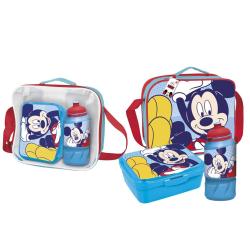 Disney Barn / barn Mickey Mouse lunchpåse One Size Röd blå