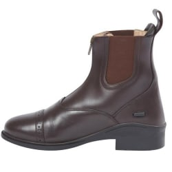 Dublin Evolution Vuxna Zip-stövlar med läder fram 4 UK Brun