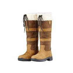 Dublin Vuxna Eskimo-stövlar i unisex läder II 6 UK Wide Mörkbrun