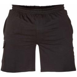 Duke Herr D555 John Kingsize lätta shorts i bomull 5XL Svart