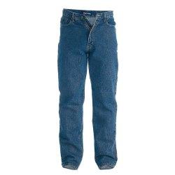 Duke Herr Rockford Tall Comfort Fit Jeans 40XL Stentvätt