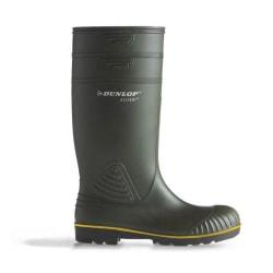 Dunlop Herrar Acifort Heavy Duty Wellies 12 UK Grön