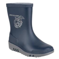 Dunlop Mini Barn Unisex Elefant Wellington Stövlar 21 EUR Bl Blue/Grey 21 EUR