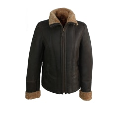 Eastern Counties Leather Orlando Aviator Sheepskin Coat för dame