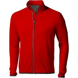 Elevate Mani Power Fleece Jacka med full dragkedja XL Röd