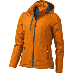 Elevate Smithers Fleece fodrad jacka för damer / damer M Orange