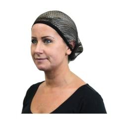 Equi-Net Trippel elastiskt hårnät för kvinnor / damer Standard S