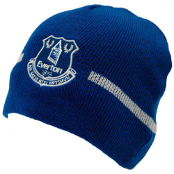 Everton FC Design Basic Stickad mössa hatt One Size Blå vit