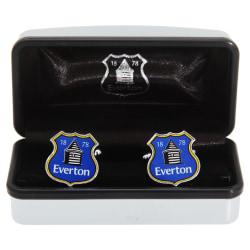 Everton FC Mans officiella Metal Football Crest manschettknappar