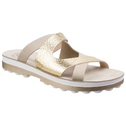 Fantasy Kvinnor / damer Valentina Slip On Sandal 4 UK Naken Volc