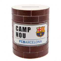 FC Barcelona Money Pot One Size Tegelröd / vit