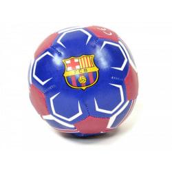 FC Barcelona Officiell Mini 4 Tums mjuk fotboll 2 Blå / Vit / Rö