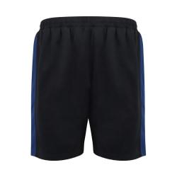 Finden och Hales Herr stickade shorts XL Marinblå / kunglig blå