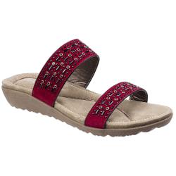 Fleet & Foster Parisio sandaler för kvinnor / damer 7 UK Röd