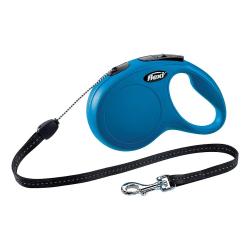 Flexi Ny komfort utdragbar tejpkabel S (8m) Blå