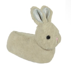 Flickor Bunny Head tofflor 9-10 UK Child Beige