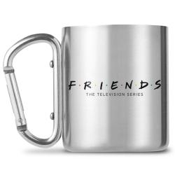 Friends Logo Carabiner rånar One Size Silver