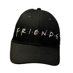 Friends Logo Snapback Cap One Size Svart