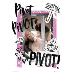 Friends Pivotaffisch One Size Black / Pink
