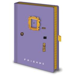 Friends Frame A5 Notebook A5 Purple Purple A5