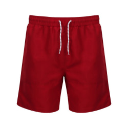 Front Row Herrskortshorts S Vintage Red / Vintage Red