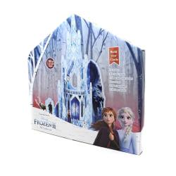 Frozen 2 barn / barn bygger ditt eget 3D-isslott One Size Blå