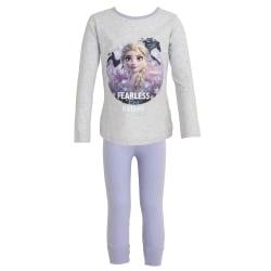 Frozen 2 Childrens / Girls Fearless By Nature Pyjamas Set 7-8 Ye