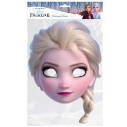 Frozen 2 Elsa-mask för barn / barn One Size Flerfärgade