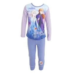 Frozen II Långärmad topp för barn och barn Pyjamasuppsättning