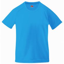 Fruit of the Loom Unisex Performance Sportswear T-shirt för barn