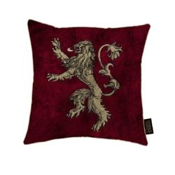 Game of Thrones Canvas kudde med Lannister Design One Size Röd