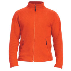 Gildan Vuxna Unisex Hammer Micro-Fleece Jacka L Orange