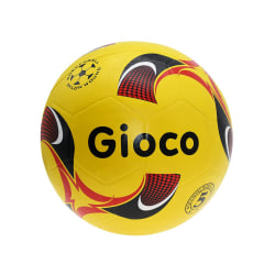 Gioco gjuten fotboll 4 gul / svart / röd