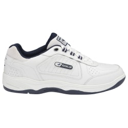 Gola Herr Belmont WF Wide Fit Trainers 13 UK Vit / Navy