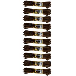 Grafters 210cm vandringsstövel snören (paket med 10) Pack of 10
