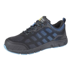 Grafters Herrar Super Light Safety Trainers With Safety Toe Cap