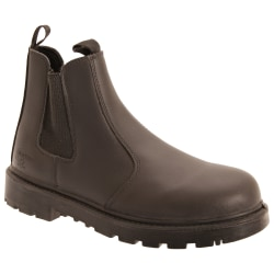 Grafters Mäns grinder Safety Twin Gusset Leather Dealer Boots 5