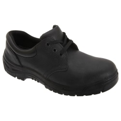 Grafters Mens 3 Eye Grain Leather Safety Toe Cap Shoes 41 EUR Sv