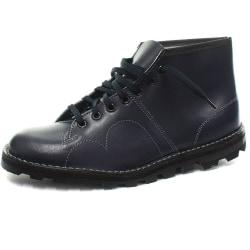Grafters Originallackerade läder Retro apor för herrar 7 UK Mari