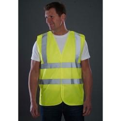 Grafters Unisex säkerhetsvest för hög synlighet 3XL Gul