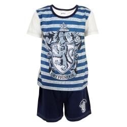 Harry Potter Barn / barn Gryffindor randig kort pyjamasuppsättni