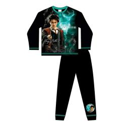Harry Potter Pojkar Expecto Patronum Pyjamas med lång ärm 7-8 Ye