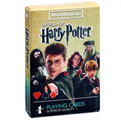 Harry Potter Spelar kort One Size Flerfärgade
