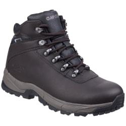 Hi-Tec Eurotrek Lite vattentäta promenadskor för män 8 UK Mörk c