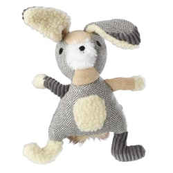 House of Paws Bushy Tail Hare Rope Dog Toy One Size Grå