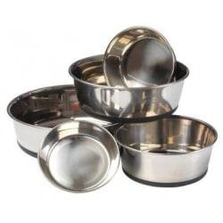 House of Paws Rostfritt stål hundskål XL Silver
