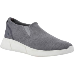 Hush Puppies Mens Cooper Slip On Shoe 8 UK Grå