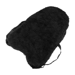 Hy Faux Fur Seat Saver One Size Svart