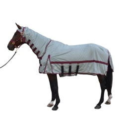 Hy Guardian Fly Rug Och Fly Mask 5´ 6´´ Silver