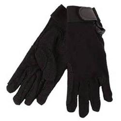Hy5 Vuxna handskar i bomullsfimple XXS Svart